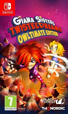 Nintendo Switch Spiel Giana Sister's Twisted Dreams Owltimate Edition NEUWARE