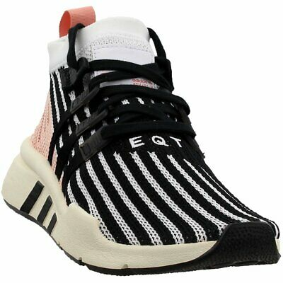 best cheap ac5ab 99338 adidas EQT Support Mid ADV Primeknit Sneakers - Black White - Mens