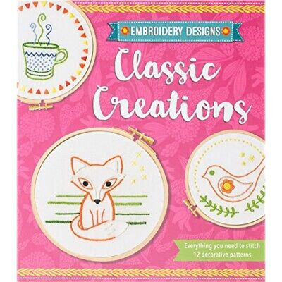 Quarto Group Embroidery Designs Kit-classic Creations