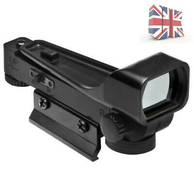 Tactical Airsoft Red Dot Sight Scope Wide View Airgun 20mm Rail Mount New