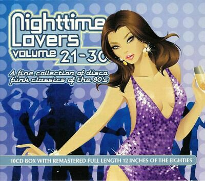 Nighttime Lovers Volumes 21-30: A Fine Collection Of Disco Funk Classics Of T...