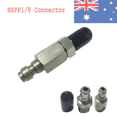 Paintball 1/8'' BSPP Fill Nipple One Way Foster&Male Plug For Air Hose Fittings