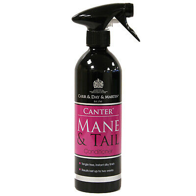 CARR DAY MARTIN CANTER  MANE & TAIL 500ml ALUMINIUM SPRAY BOTTLE