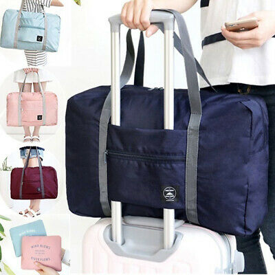 Foldable Large Duffel Bag Luggage Storage Bag Waterproof Travel Pouch Tote Bold