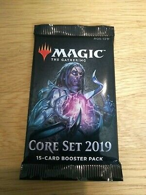 Magic The Gathering Core Set 2019 Booster Packs | MTG | BRAND NEW | SEALED |