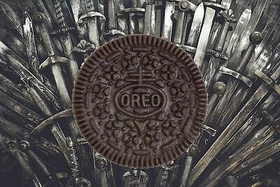 Game Of Thrones Oreos HBO LIMITED Edition  X *FREE USPS SHIPPING !*