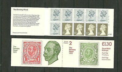 Great Britain Booklet The Downey Head 1911 SG FL2A MNH