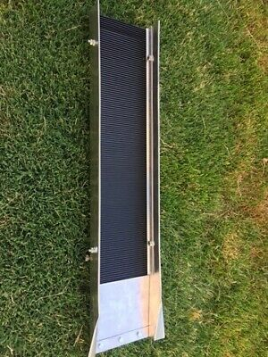 Sluice Box w/ Deep Ribbed Rubber Matting for Gold Mining Prospecting Panning
