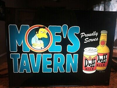 Moe's Tavern Light Up Sign, The Simpsons 20th Century Fox Licenced
