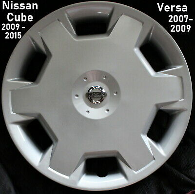 New 1 Replacement Hubcap fits 15 Wheel Nissan Cube & Versa 2009-2015 cover 53072