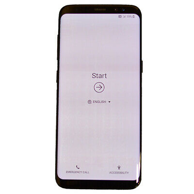 Samsung G950 Galaxy S8 64GB Android Verizon 4G LTE Smartphone SHADOW SCREEN