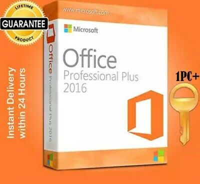 Ms Office Professional 2016 Pro Plus 32/64 Bit Instant Delivery