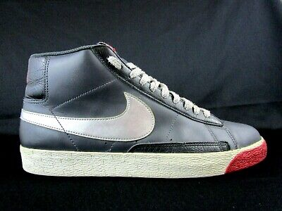 buy online 6323f 7e332 NIKE BLAZER HIGH Anthacite Silver/Black Mens Shoes Size 11 (315877-001)