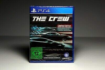 PS4 / Playstation 4 Spiel | The Crew - Limited Edition | NEU & OVP