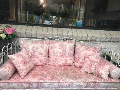 Antique  cast iron small day bed