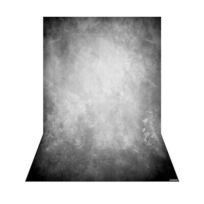 Andoer 1.5 * 2.1m/5 * 7ft Photography Background Grey Retro Wall Backdrop R8H1