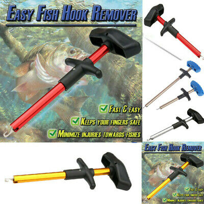T-Type Easy Fish Hook Remover Fishing Tool Minimizing The Injuries Tools Tackle