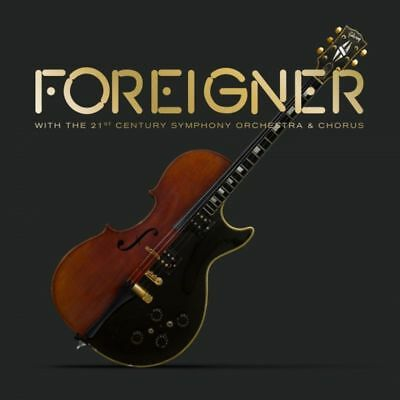 FOREIGNER With The 21st Century Symphony Orchestra & Chorus CD/DVD NEW NTSC ALL