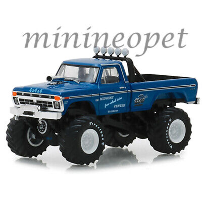 Greenlight 49030 A Bigfoot Monster Truck 1974 Ford F-250 1/64 Midwest Blue