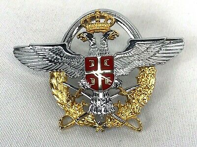 Russian Military Officers Hat Badge