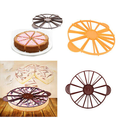 Cake Cutter Slicer Mold 10/12 Baking Cake Pie Pastry Divider Kitchen Party Tools
