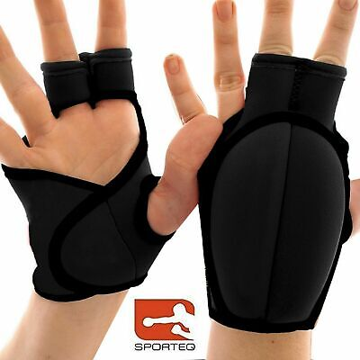 Sporteq® 0.5kg Pair Neoprene Hand Wrap Wrist Weight Grip Gloves Weighted Gloves
