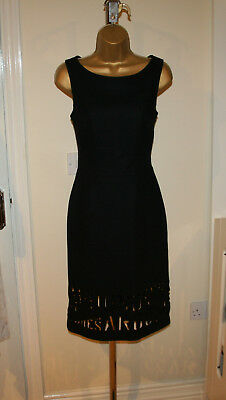 03f960af4a Vintage Moschino Cheap And Chic Iconic Collectors Little Black Dress Sz UK  8-10