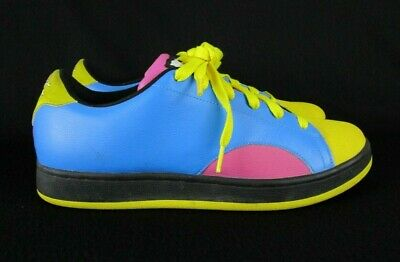 e17279f2cc507 Reebok Ice Cream Pharrell BBC Board Flips Blue Purple Yellow Sz 10.5  (RB701FLU)