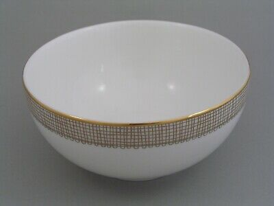 """WEDGWOOD VERA WANG GILDED WEAVE 5 3/4"""" CEREAL BOWL, 1st  NEW"""