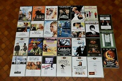 Lot 27 Dvd Woody Allen Bananas Annie Hall Manhattan Maudite Aphrodite Etc...