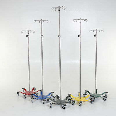 New MCM-276 Heavy-Duty 6-Leg Spider IV Pole Stainless Steel 4-Hook Top