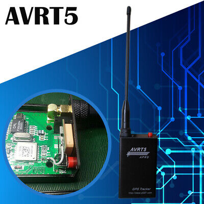 AVRT5 APRS TRACKER VHF with GPS Bluetooth Thermometer TF