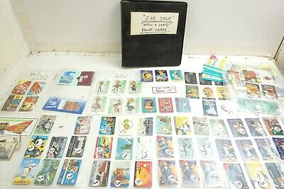 50+ New & Used Phone Card Collection Disney, Coca Cola, Sports, Gas Station, Etc