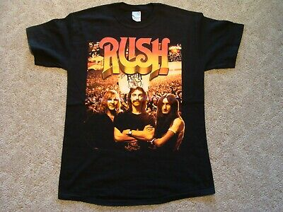 RUSH Beyond the Lighted Stage T-Shirt NEW Adult Medium