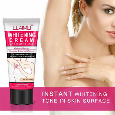 Scrubs & Bodys Treatments 50ml Beauty Body Cream Armpit Whitening Cream Between Legs Knees Private Parts Underarm Whitening Formula Armpit Whitener Hot!!!
