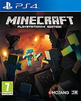 Ps4 Game Minecraft PLAYSTATION 4 Edition Express Shipping New