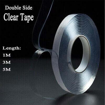 Multifunctional Double-Sided Traceless Washable Removable Adhesive Tape 1/3/5M