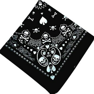 Skull Bandana Hiphop Gothic Headwear/Hair Band Scarf Neck Wrist-Headtie DECOR