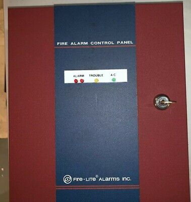 Fire-Lite MP-12 Fire Alarm Control Panel, CABINET AND TRANSFORMER
