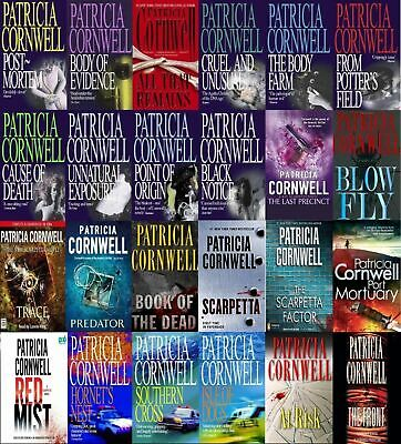 Patricia Cornwell AudioBook collection 1990-2016 (MP3)