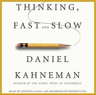 Thinking, Fast and Slow by Daniel Kahneman - AUDIOBOOK