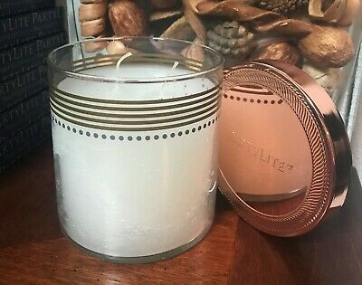 PARTYLITE BEACH FUN LAYERED 3-WICK DECORATIVE JAR CANDLE 50/% OFF HARD TO FIND