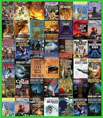 Orson Scott Card Series Audiobook Collection Of 35 Books ( Audiobooks , MP3 )