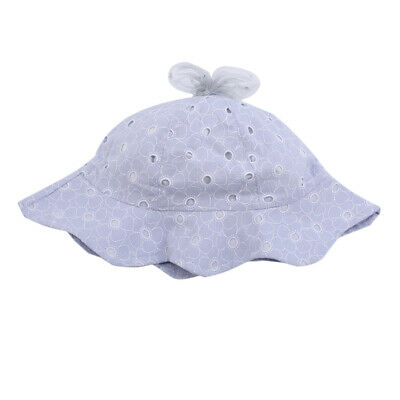 Toddler Baby Kid Girls Summer Outdoor Hollow Sun Hat Brim Bucket Cap Beach J