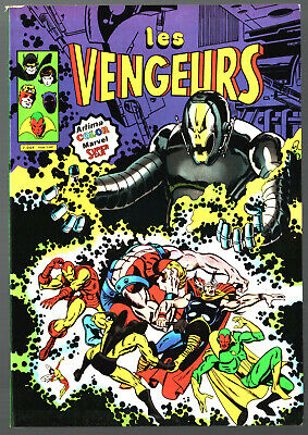 LES VENGEURS n°1 ¤ 1980 ARTIMA COLOR MARVEL SUPER STAR