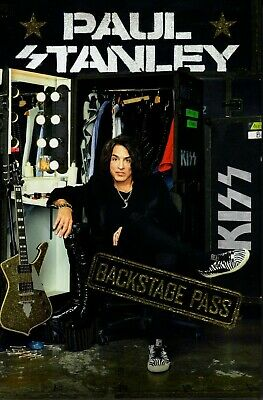 PAUL STANLEY signed autographed 1st Edition BOOK KISS