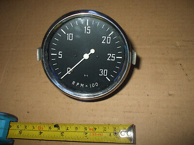smiths rev counter 1.1  looks unused with fixing braket 80mm