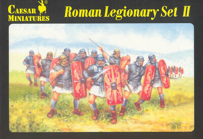 CAESAR MINIATURES 1/72 - H051  Roman Legionary (Set II) - BOX sold out catalog