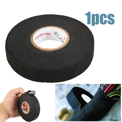 19mm x25m 51608 Tape Adhesive Cloth Fabric Wiring Loom Harness for Home Using UK