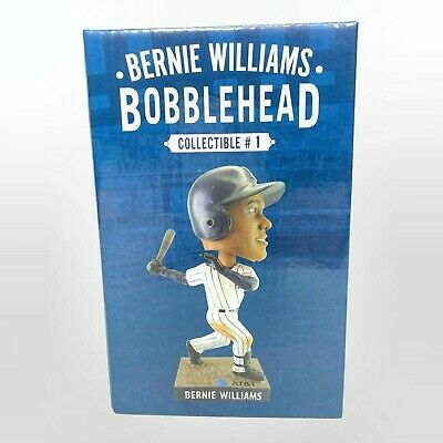 Bernie Williams Bobblehead NY Yankees Stadium Giveaway SGA 4/12/19 New In Box!